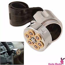 Six Shooter Steering Wheel Resolver Knob Secret Hidden Compartment Spinner Knob