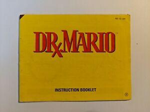 Nintendo NES manual Dr. Mario