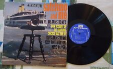 Lil Armstrong LP Satchmo And Me 1957 Spoken Word Oral History VG++/VG+