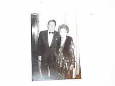 VINTAGE LATE 1960S PRE PRESIDENTIAL PHOTO BLACK AND WHITE PHOTO RON NANCY REAGAN