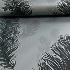 Arthouse Sirius Diseño de plumas Pájaro motivo Metálico