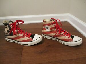 Used Size 9 Fit Like 9.5 - 10 Converse Chuck Taylor All Star Hi Shoes Am. Eagle