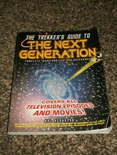 The Trekker'S Guide To The Next Generation Book! Star Trek! Free Shipping!