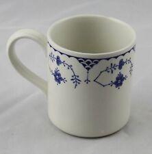"Furnivals Denmark Blue & White Coffee Mug 3-1/2"" Multiple Available England"