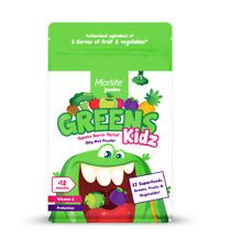 Morlife Kidz Greens 150g | Vitamin C Calcium Kids Drinks Multivitamin
