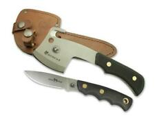 KNIVES OF ALASKA 00970FG MICRO HATCHET COMBO WITH LEATHER SHEATH