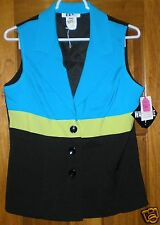 DBY Women's Vest NWT Size 9-10 Free Shipping