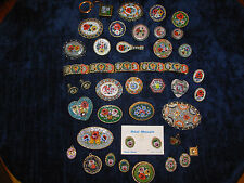 HUGE LOT VINTAGE JEWELRY MICRO MOSAIC BROOCH PIN BRACELET EARRINGS SETS ITALY