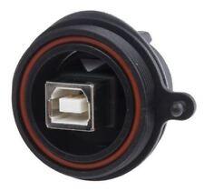 Bulgin DROIT MONTAGE SUR PANNEAU FEMELLE Version 2.0 type B USB Raccord,30 V AC