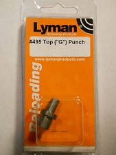 Lyman #495, Top Punch (G)  #2786769, 38/357 Cal. WC/SWC, see list of moulds