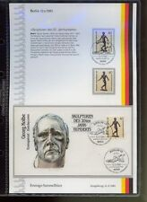 Berlin 1981 20th Century Sculpture FDC/Stamps Pack Set
