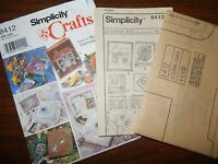 Memory Books Boxes Frames Simplicity Crafts 8412 Fabric UC FF Robin Greenwood