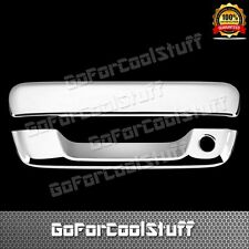For 04-12 Gmc Canyon Tailgate Chrome Handle With Keyhole Abs Covers