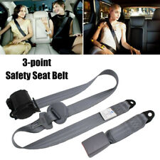 SUV Car RV Retractable Seat Belt Automatic Belt Quick Release with Plug 3 Point
