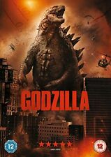 GODZILLA DVD Aaron Taylor Elizabeth Olsen Original UK Rele New Sealed R2