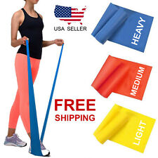 Workout Resistance Bands Loop Set Fitness Yoga Band Booty Leg Exercise Theraband