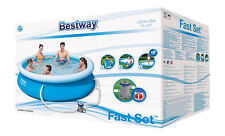 1 X NEUEN   Bestway 57270 Quick-up Pool - 305 x 76cm, Blau