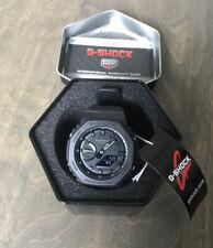 Casio G-Shock GA-2100-1A1 All Black Mens Watch *IN HAND SHIPS FAST*