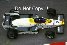 Jacques Laffite Williams FW09 Monaco Grand Prix 1984 Photograph