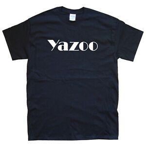 YAZOO new T-SHIRT sizes S M L XL XXL colours Black, White depeche erasure