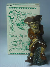Wade-Cornish Stagno Miniera Pixie FIGURINA British MITI & LEGGENDE + Scatola Originale