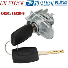 Front Door Lock Cylinder Repair With 2 Key for Ford Focus C-Max S-Max 1552849 LO