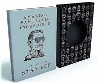 ***SIGNED LTD** Amazing Fantastic Incredible Marvelous AUTOGRAPHED Stan Lee  NEW