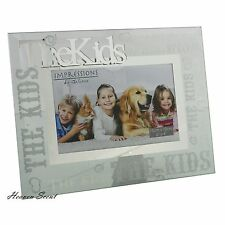 Glass Photo Frame The kids Fathers Day Gift Ideas For Her & Him & Family & Mum