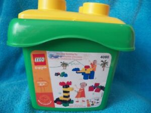 Lego Duplo Explore Basic Set preschool building toy 45 pcs #4080 in tub complete