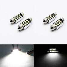 2 X 8 SMD LED 36mm 239 c5w Canbus Sin Error Xenón Blanco Número De Matrícula Luz K5G1