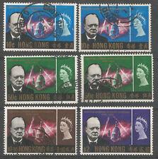 CHINA. HONGKONG, 1966 year, used stamps, set