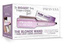 Pravana Perfect Blonde Wand Iron & 6 Creme Lighteners Boxed Set FREE SHIPPING!