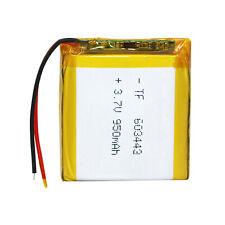 3,7V 950mAh 063443 Li-Ion-Batterien Li-Polymer RC Batterie für Bluetooth GPS MP3