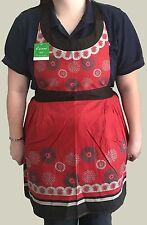 Harumi Red Apron - Size 68 x 82 cm - 100% Cotton - Chef in the Kitchen