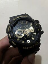 CASIO G-SHOCK WATCH GA-400GB-1A9 (YELLOW GOLD)