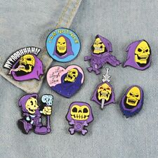 Skeletor He-Man Enamel Pin Masters Of The Universe Live Laugh Love MOTU Brooches