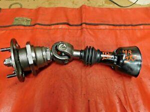 Triumph TR6,TR250,TR4A IRS, Rebuilt Rear Hub & Axle Assembly, !!