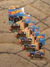Hot Wheels Chevy Trucks 100 Years~Complete set of 8, 3 other whole sets b/g car