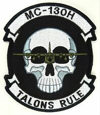 USAF 17th SOS SPECIAL OPERATIONS SQUADRON MC-130H TALONS RULE PATCH
