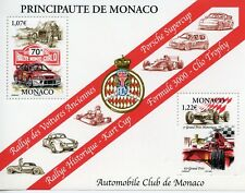 TIMBRE DE MONACO BLOC N° 36 ** SPORT / AUTOMOBILE CLUB DE MONACO / VOITURE