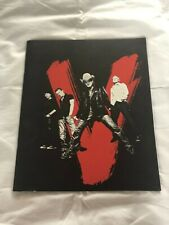 U2 Vertigo Tour programme Manchester 2005 as new
