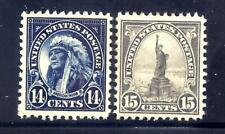 US Stamps - #565-566 - MNH/MH -  14-15 cent Regular Issues - CV $39
