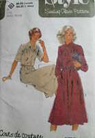 VINTAGE STYLE SEWING PATTERN WOMEN'S DRESS  SIZE 16 NEW UN-USED
