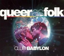 QUEER AS FOLK: CLUB BABYLON DIGIPAK ORIGINAL SOUNDTRACK CD! [2005] 2 CDS VG+/EX