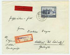 Deutsches Reich Generalgouvernement Brief 1943 Bauwerke Mi 63