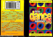 CASx2 - Now Dance Summer 94 - Various Artists (DANCE COMPILATION) NEW - NUEVO
