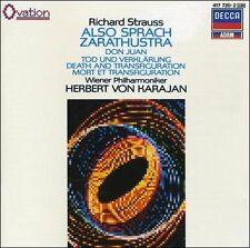 STRAUSS Also Sprach Zarathustra VON KARAJAN CD London Jubilee PDO