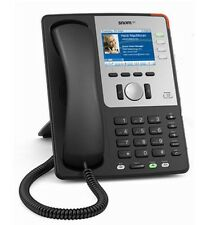 Snom SNOM-821-BK 821 High-Res TFT Color Display Black Wireless VoIP Phone w/ PoE