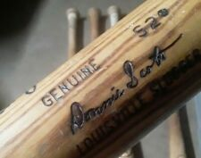 DONNIE SCOTT AUTOGRAPHED GAME USED BAT (BROKEN) *RANGERS* MARINERS*