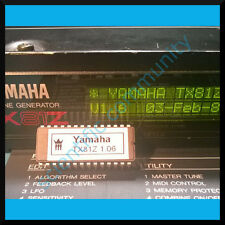 Yamaha TX81Z firmware OS upgrade: version 1.6